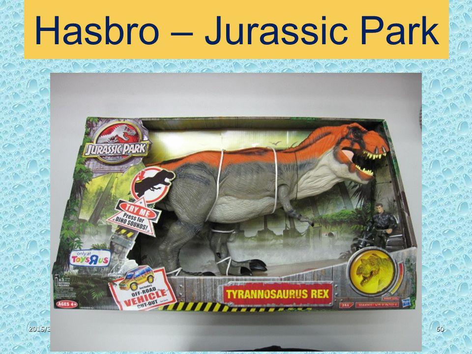 2015/3/3160 Hasbro – Jurassic Park