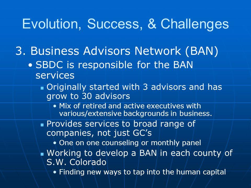 Evolution, Success, & Challenges 3.