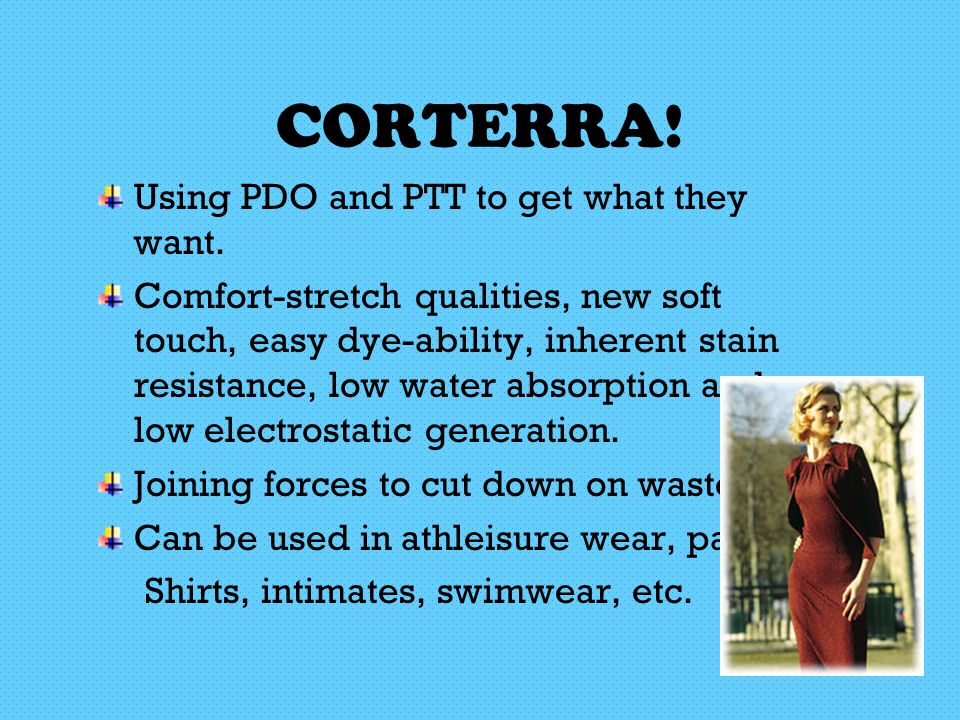CORTERRA. Using PDO and PTT to get what they want.