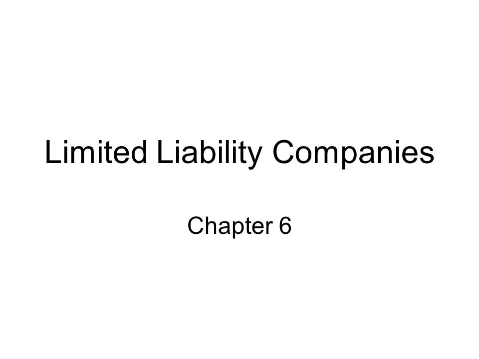 Advantages of Limited Liability Companies Limited liability companies enjoy certain advantages over the corporate model.