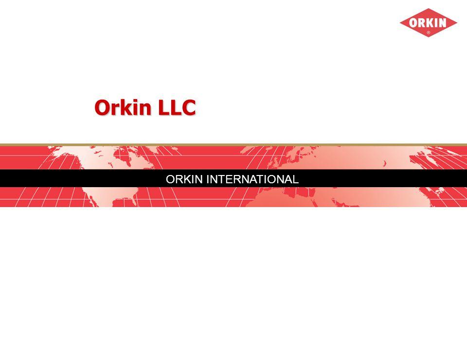 ORKIN INTERNATIONAL Orkin LLC