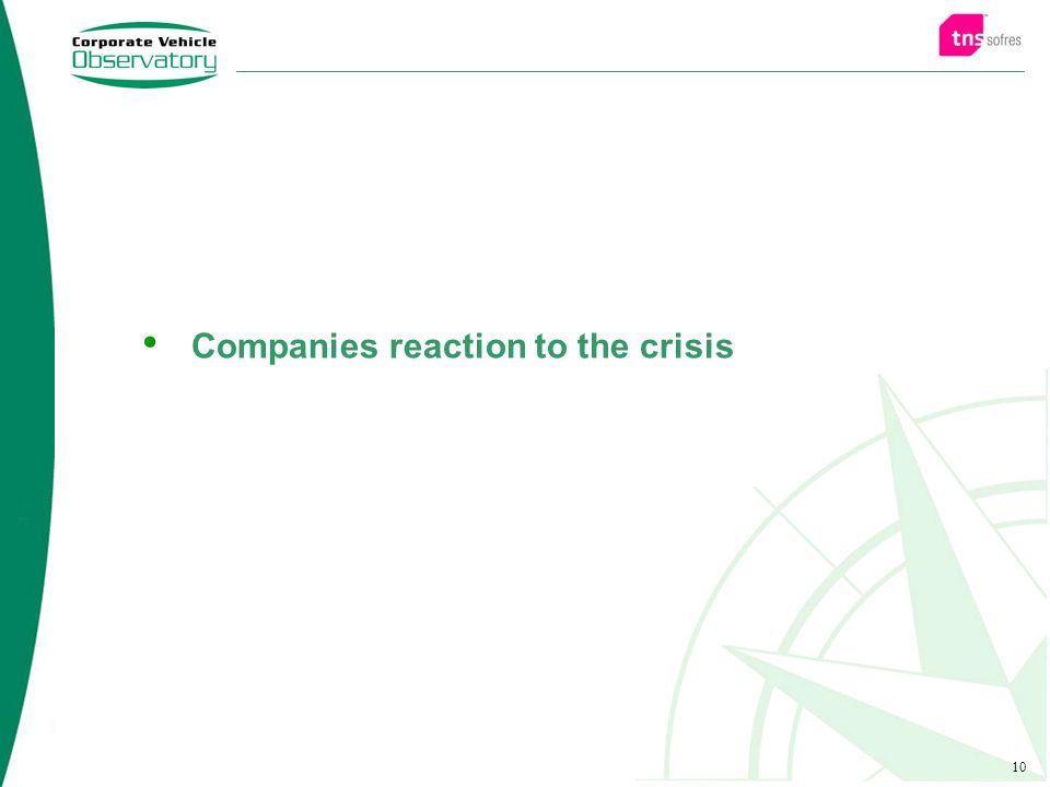 10 Companies reaction to the crisis