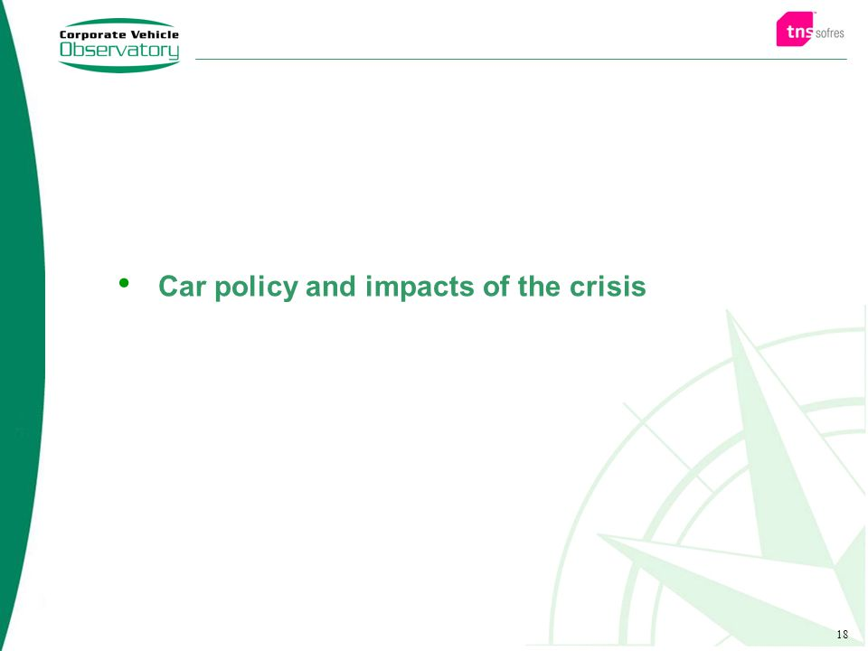 18 Car policy and impacts of the crisis
