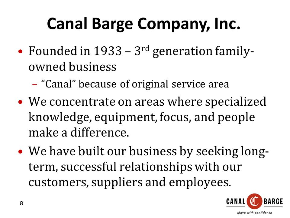 Canal Barge Company, Inc.