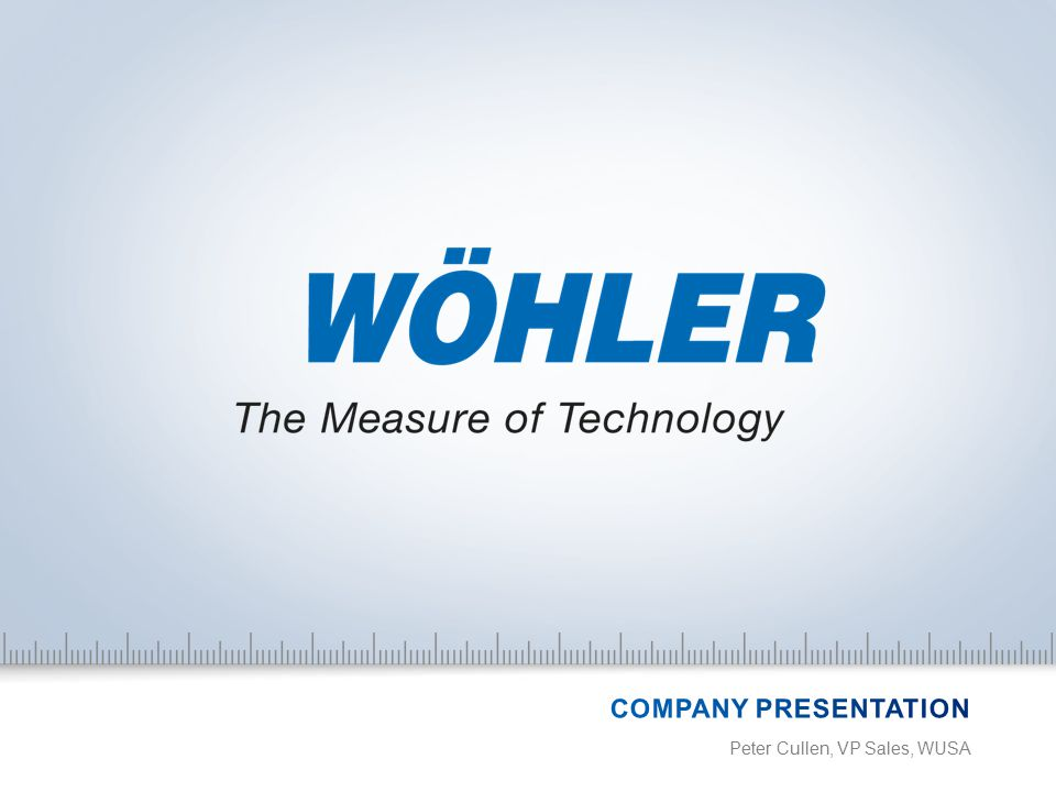 22 + INSPECTION TECHNOLOGY When chimneys, waste water pipes, flue gas and ventilation systems or industrial facilities need inspecting video inspection systems from Wöhler keep you in the picture.