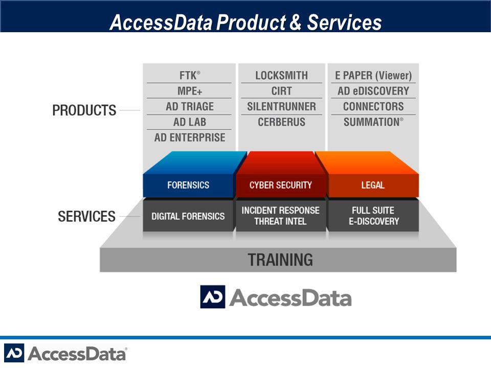 AccessData Product & Services