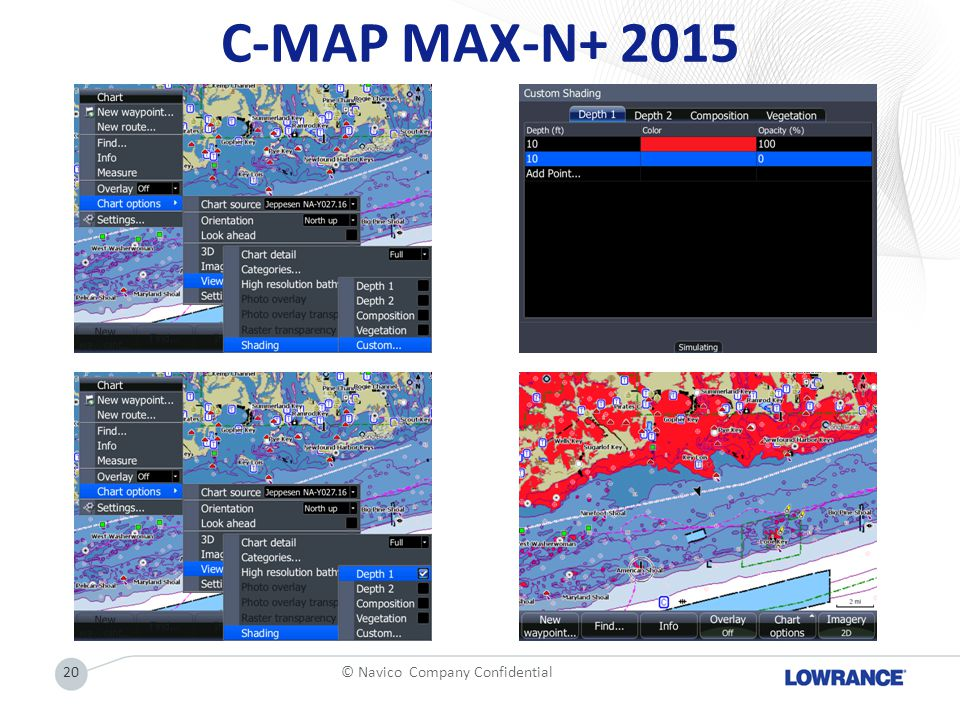 C-MAP MAX-N+ 2015 20© Navico Company Confidential