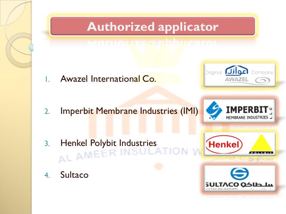 1.Awazel International Co. 2. Imperbit Membrane Industries (IMI) 3.