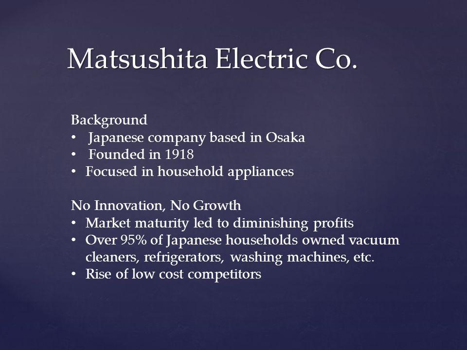 Matsushita Electric Co.
