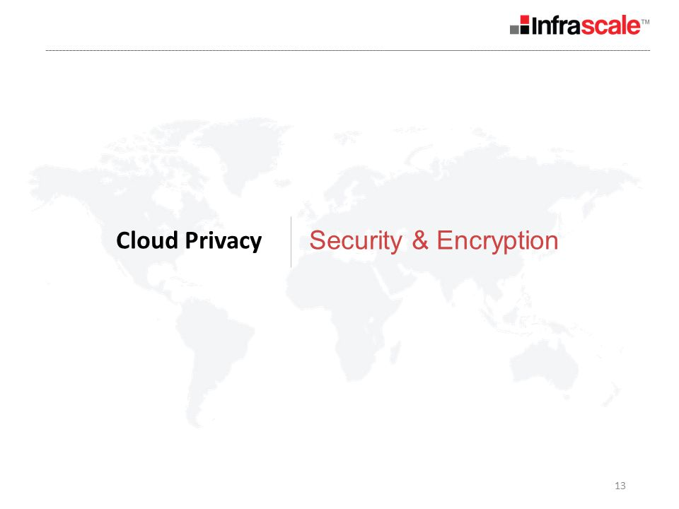 13 Cloud Privacy Security & Encryption