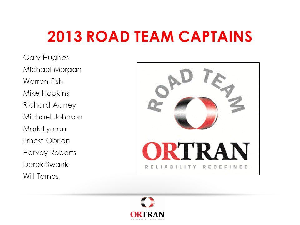 3 rd Quarter – 2013 Saturday – July 20, 2013 Upstairs at OrTran Express Breakfast – 7:30 am Meeting – 8:00 am NEXT ORTRAN COMPANY MEETING