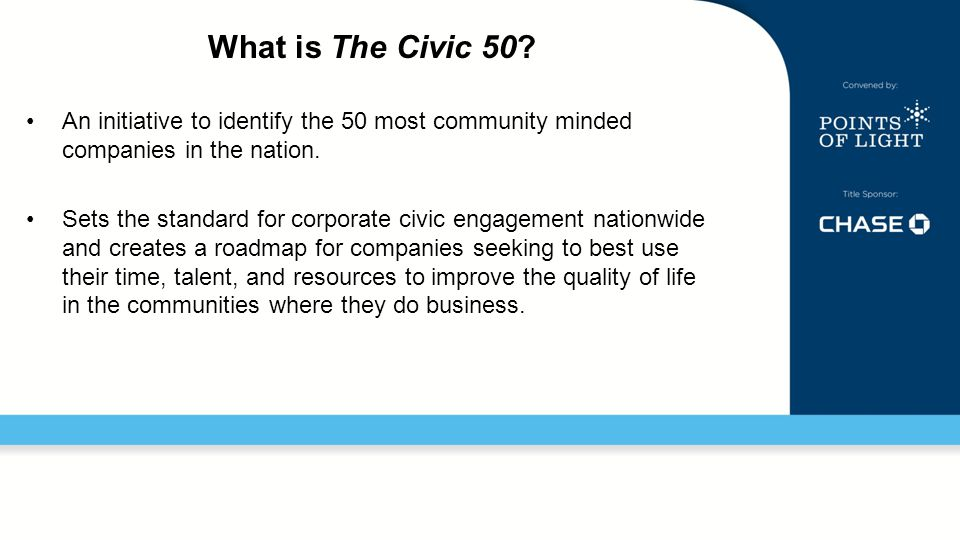 What is The Civic 50.