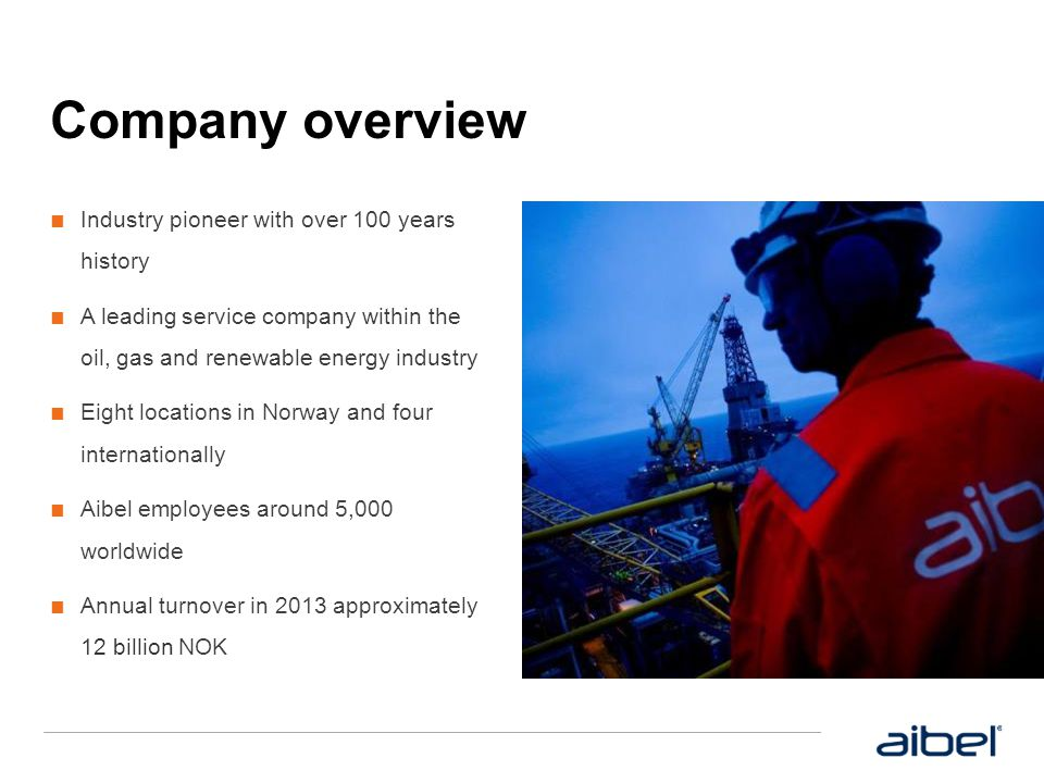 Summary  What to remember  Aibel use only Achilles approved suppliers who are also Aibel approved.