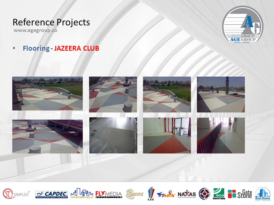 Reference Projects www.agegroup.co MUSSAFAH BRIDGE – Abu Dhabi MAQTA BRIDGE – Abu Dhabi Protective Coating