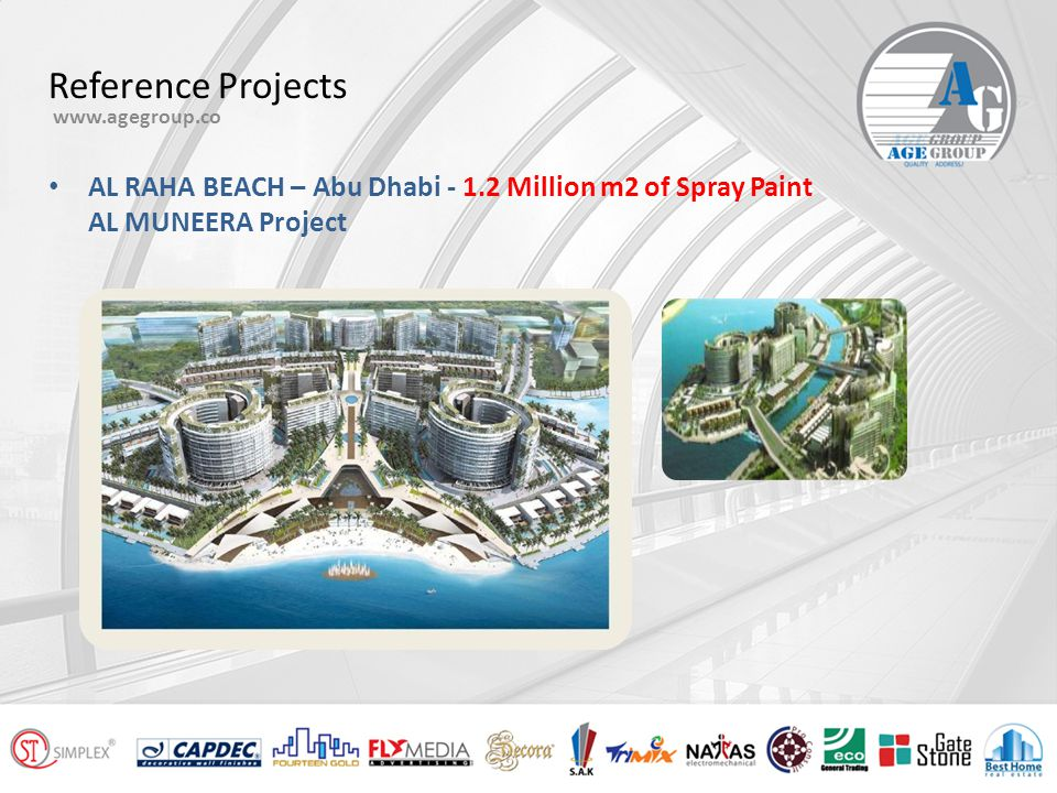 "Reference Projects www.agegroup.co Emirates Palace – Abu Dhabi ""Special Effect Paint"""