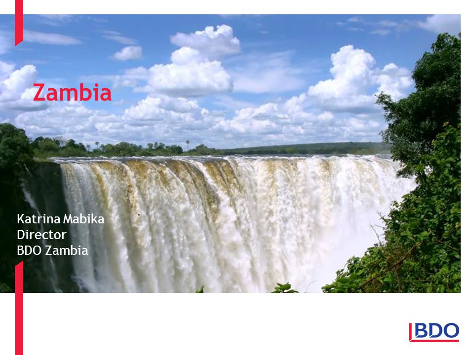 Zambia Katrina Mabika Director BDO Zambia
