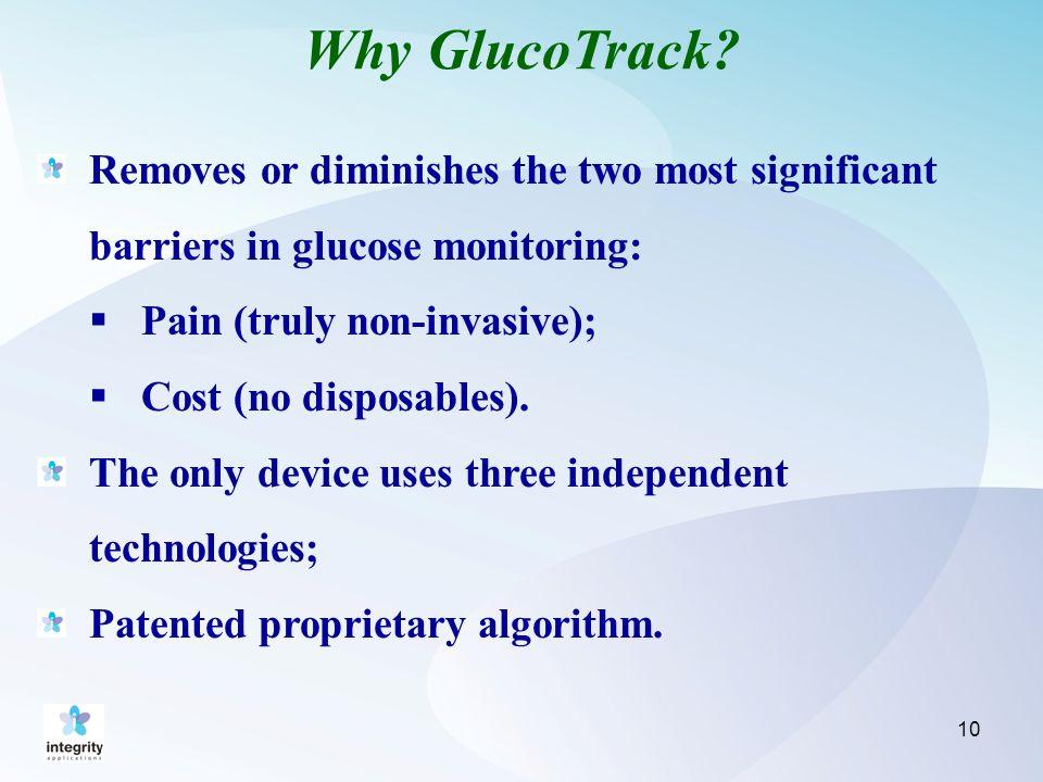 Why GlucoTrack.