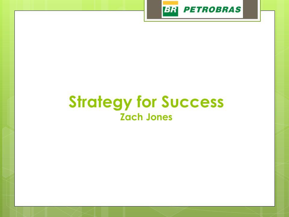 Strategy for Success Zach Jones