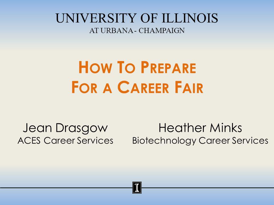 Why Attend a Career Fair.