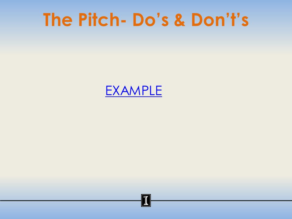The Pitch: Your Introduction My name is Anna Chan and I am a senior in microbiology.