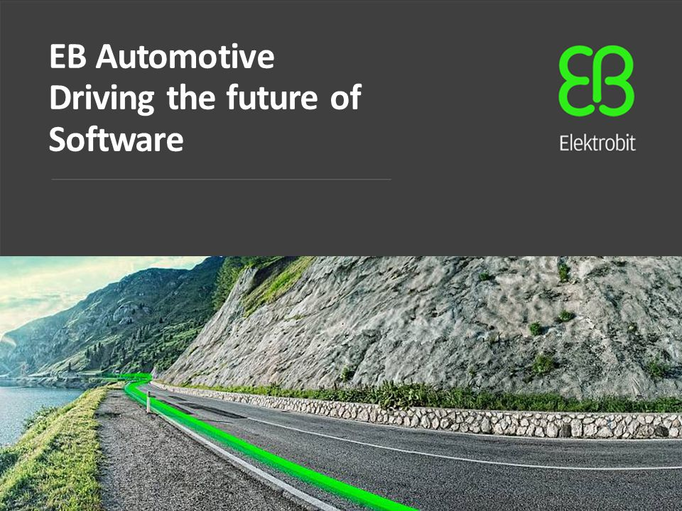 EB Automotive Driving the future of Software