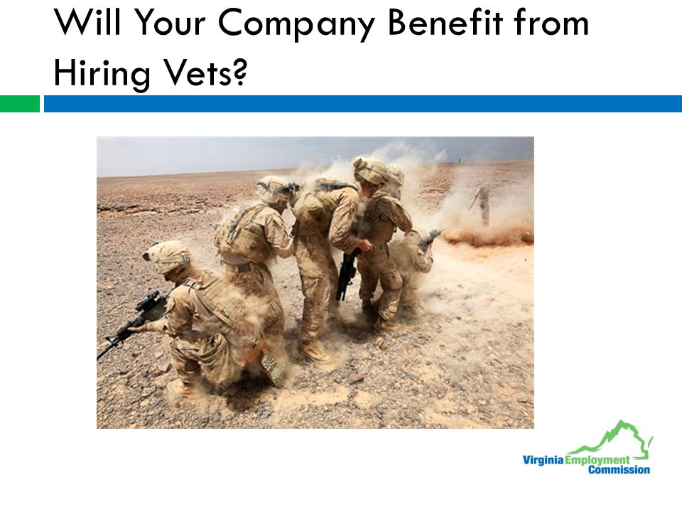 Will Your Company Benefit from Hiring Vets