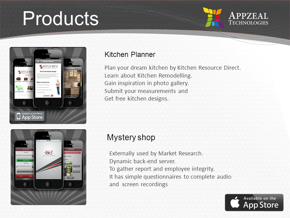 OUTLINE COMPANY PROFILE MISSION AND VISION METHODOLOGY PRODUCTS Services SWOT CONTACT US VISION Business Idea Software Skills Products Kitchen Planner Mystery shop Plan your dream kitchen by Kitchen Resource Direct.