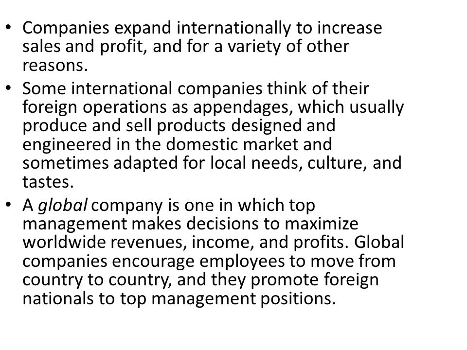 Product Division International and domestic activities are separated by product grouping the division usually shares support or staff functions, such as accounting, with other divisions