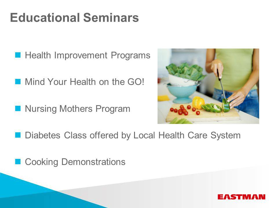 Educational Seminars Health Improvement Programs Mind Your Health on the GO.