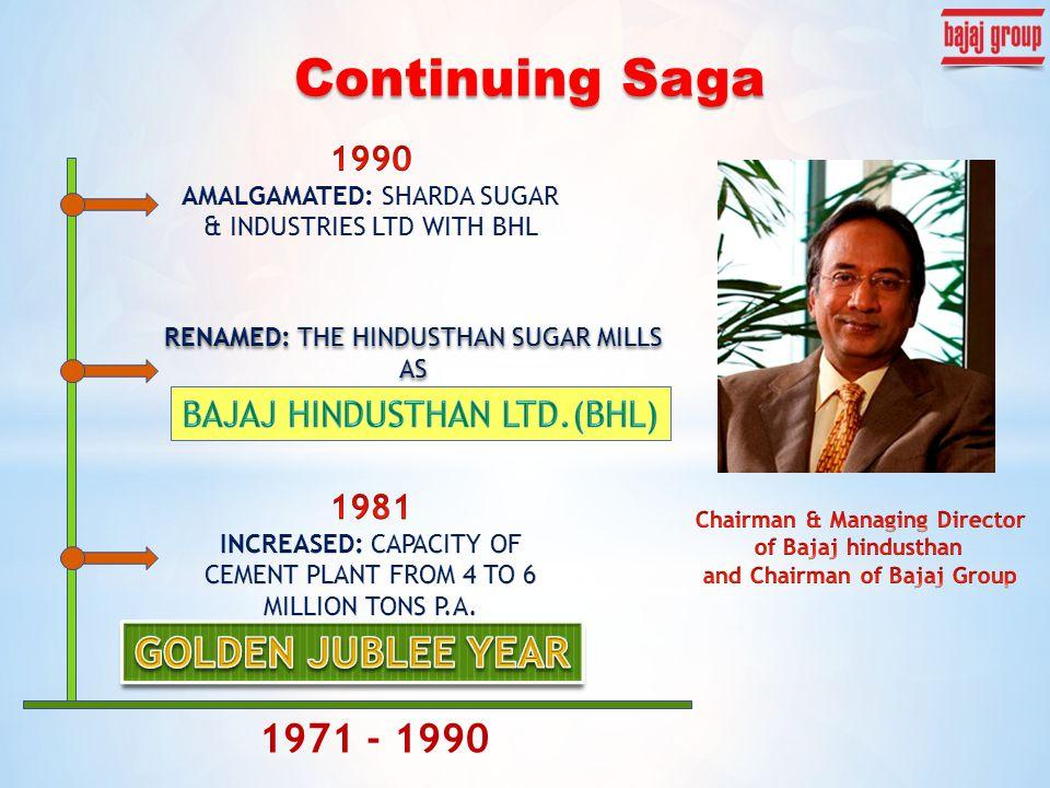 Continuing Saga 1971 - 1990