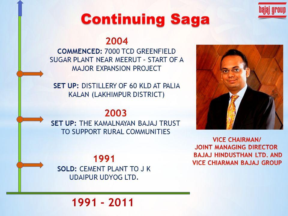 1991 - 2011 Continuing Saga