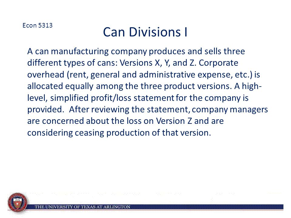 Can Divisions II Should they discontinue Version Z.