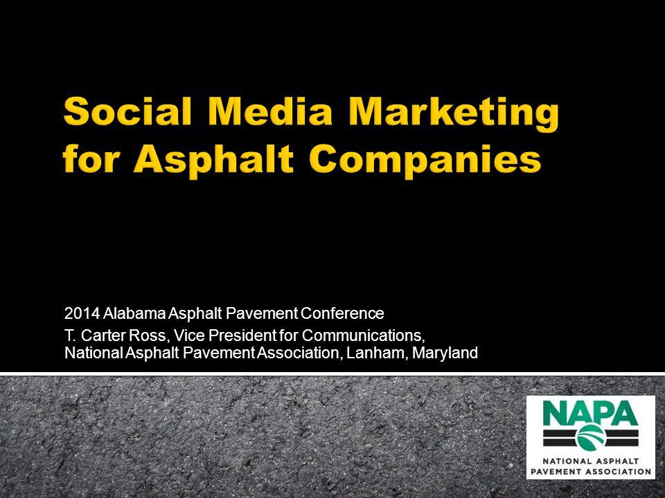 2014 Alabama Asphalt Pavement Conference T.