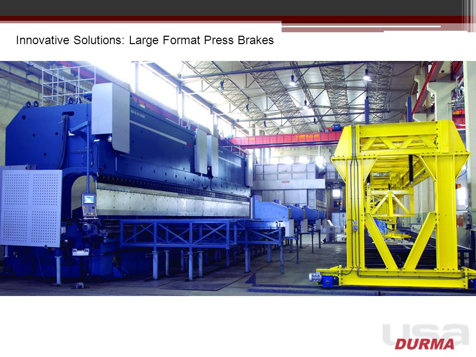 Innovative Solutions: Large Format Press Brakes