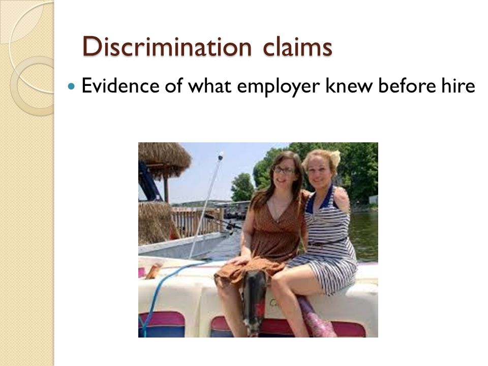 GINA Prohibits making adverse employment decisions based on genetic information.
