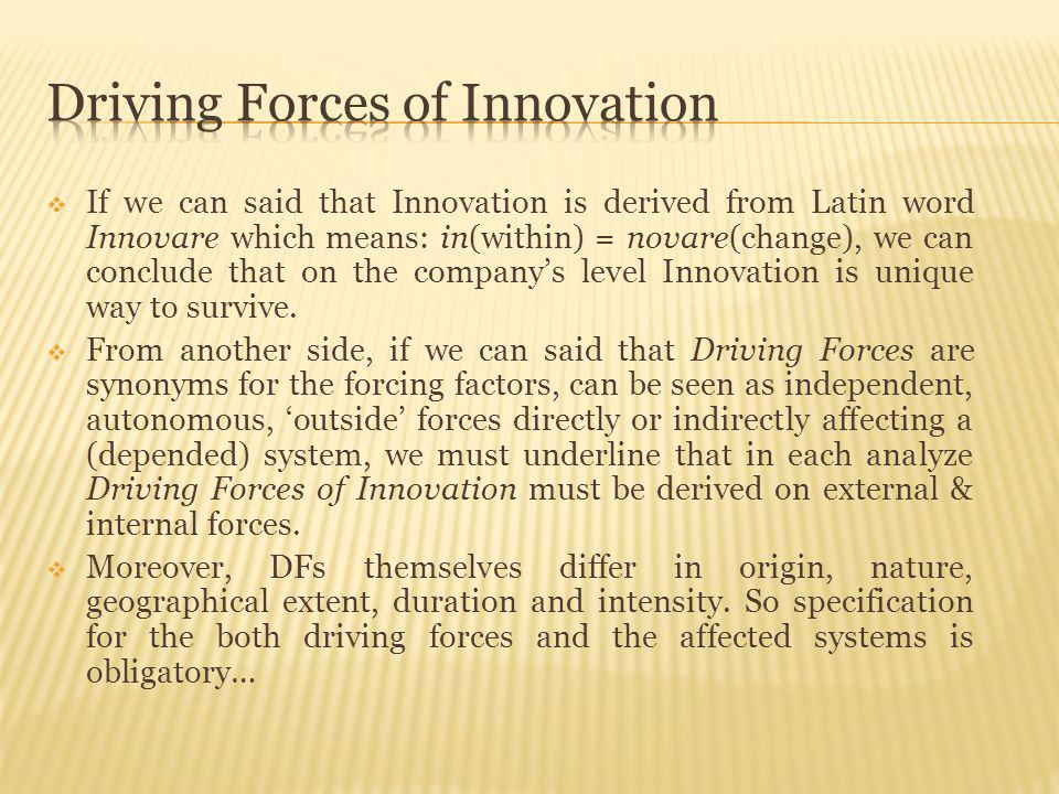 Innovation, by definition, almost always challenges the long-kept mindset and value system of a society, so it can create tension For that reason, please, managers: listen, monitor, look, supervise, innovate, invest in people, invest in environment, invest in society, because: Better society better Company and vice-versa