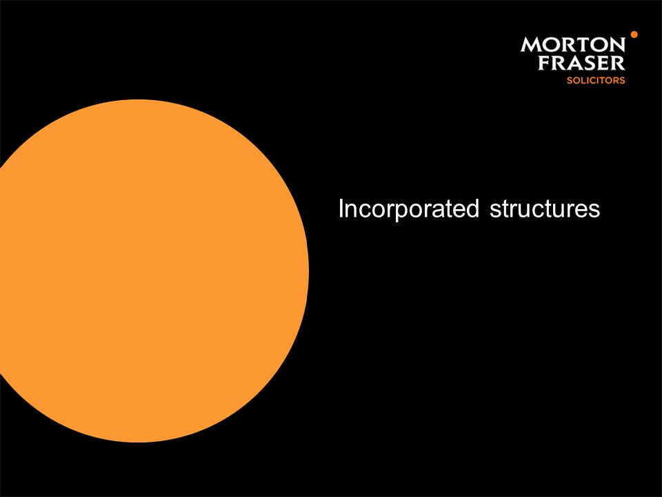 Incorporated structures