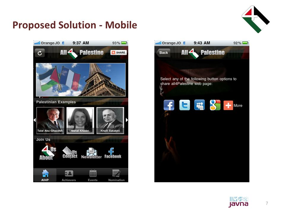 7 Proposed Solution - Mobile