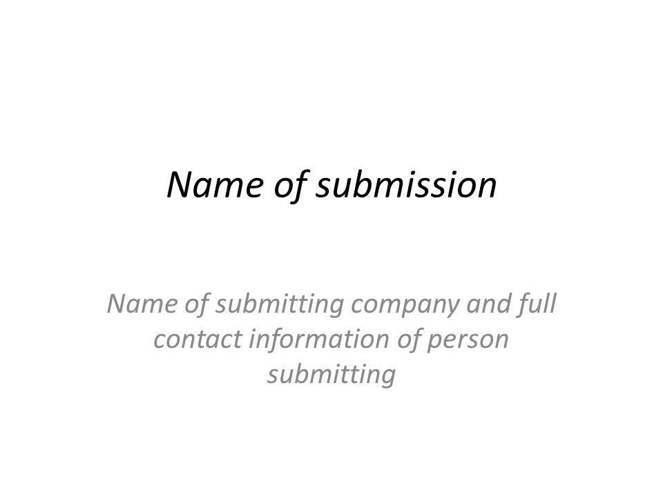 Description 1 page max Describe the concept in words