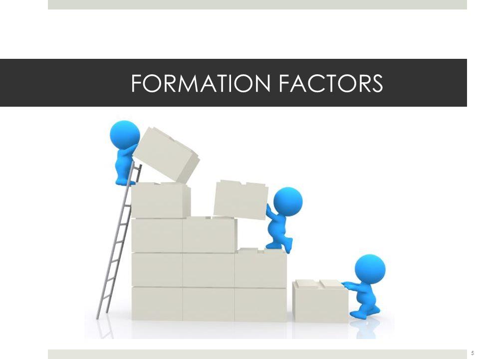 FORMATION FACTORS 5