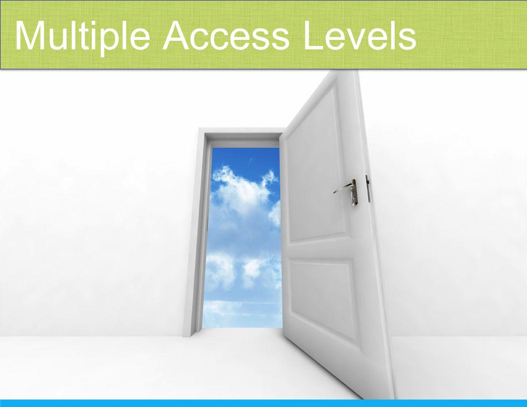 Multiple Access Levels