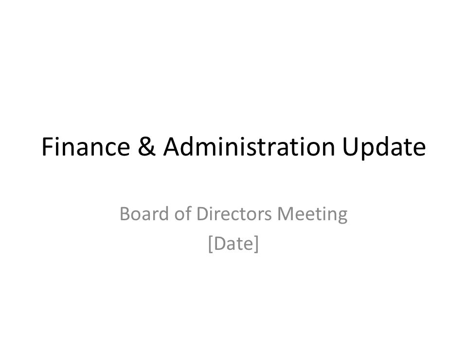 Confidential Consideration of Resolutions Approval of minutes from [last board meeting] Other resolution(s)