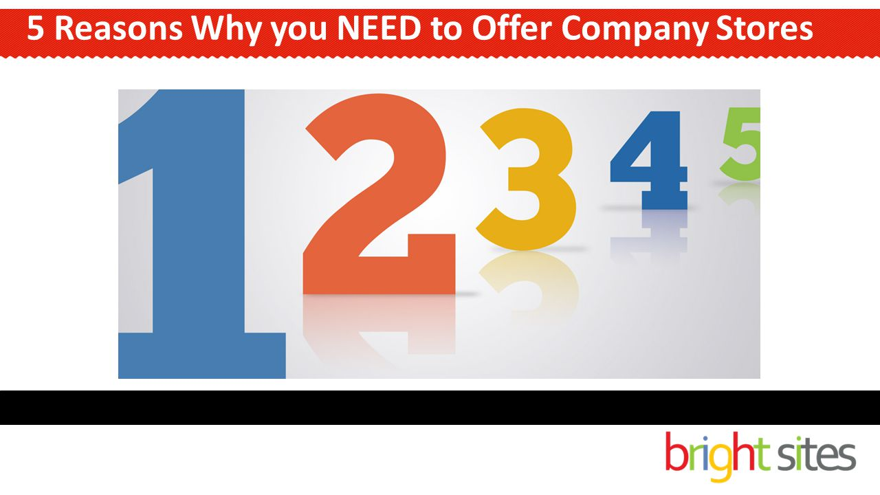 5 Reasons Why you NEED to Offer Company Stores