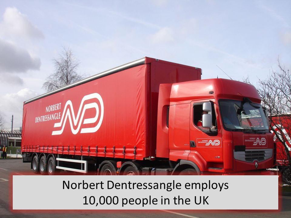 Norbert Dentressangle employs 10,000 people in the UK