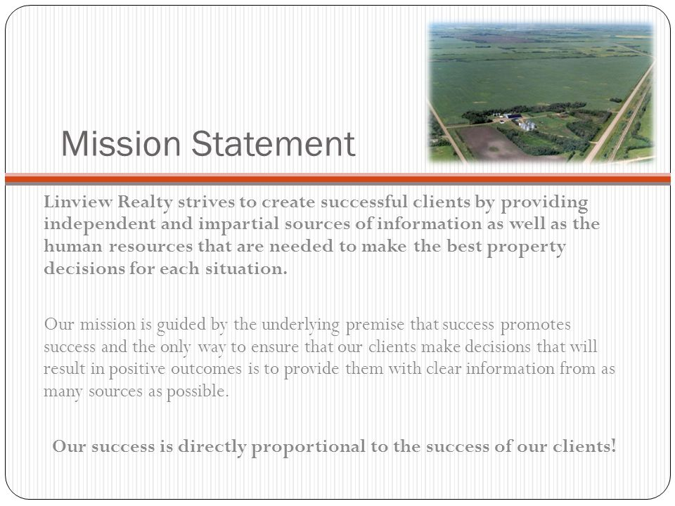 Information is the Key Whether dealing with small residential properties or large land packages, the key to our success has been the applicable information that we have gathered and then presented to our clients.