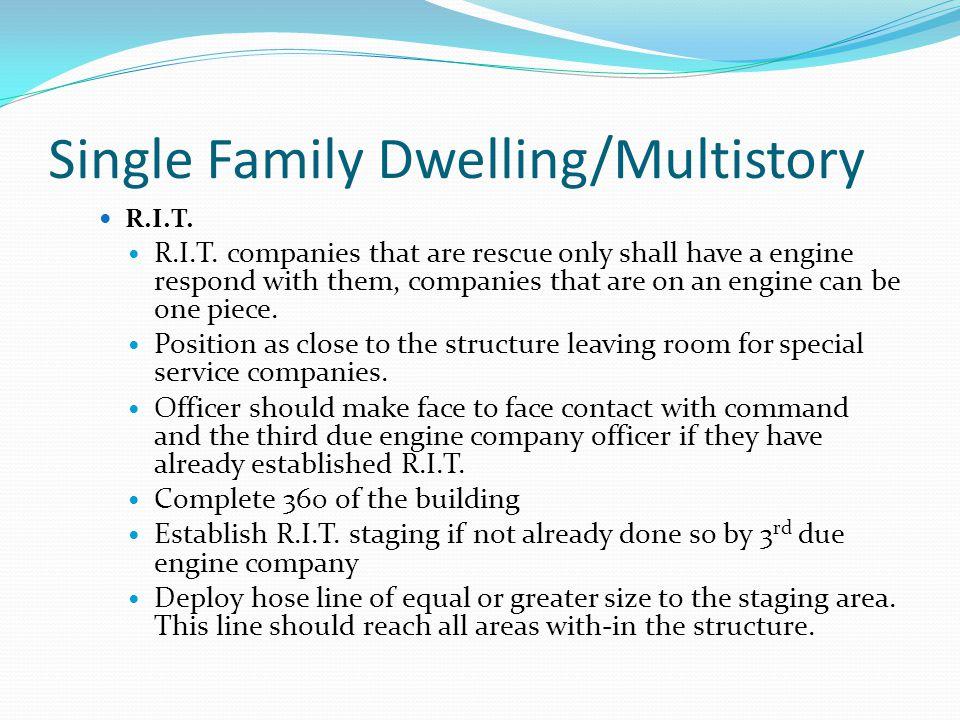 Single Family Dwelling/Multistory R.I.T.R.I.T.