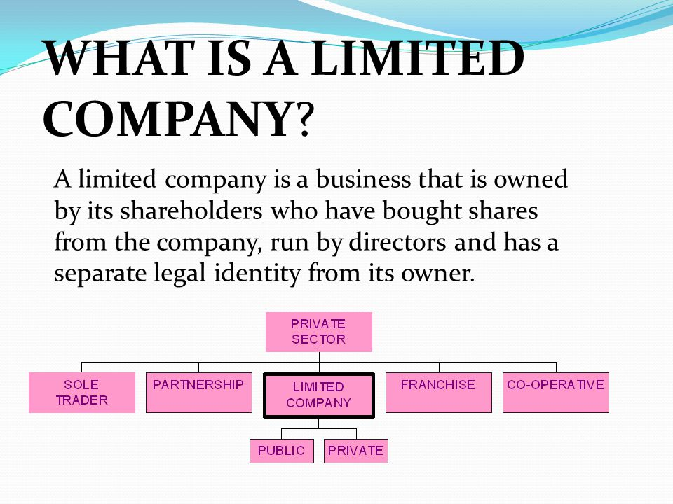 Why Become a Shareholder? Shares in public limited companies are available to buy on the stock exchange.