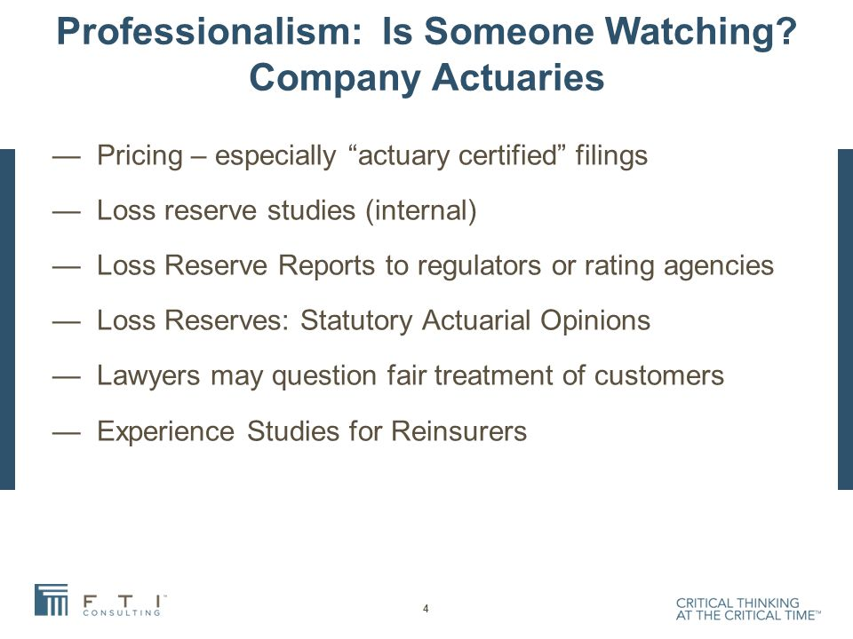 Professionalism: Is Someone Watching.
