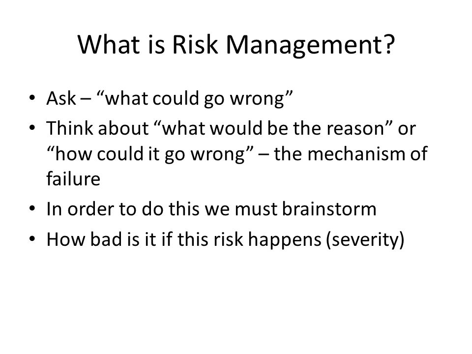 How do we master plan methodically Take a list of all products currently manufactured and any in development Take a list of all product types / processes / unit operations Prioritize unit operations / products based on perceived risk e.g.