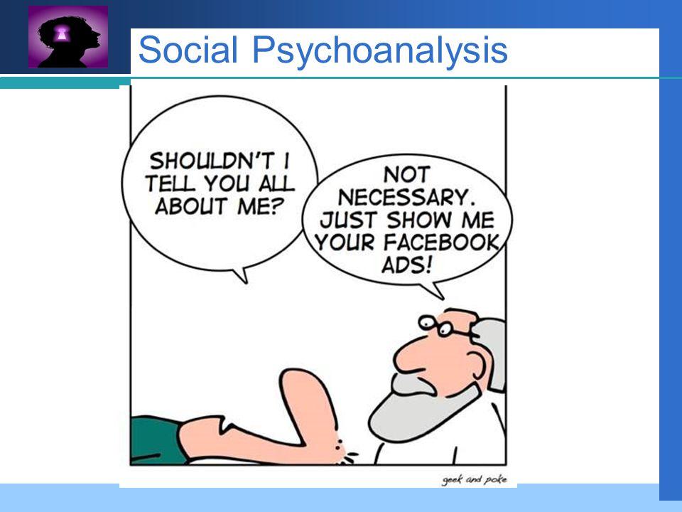 Company LOGO Social Psychoanalysis